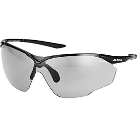 Alpina Splinter Shield VL Brille, black-black